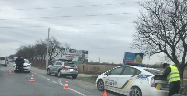 Біля Мукачева сталася аварія