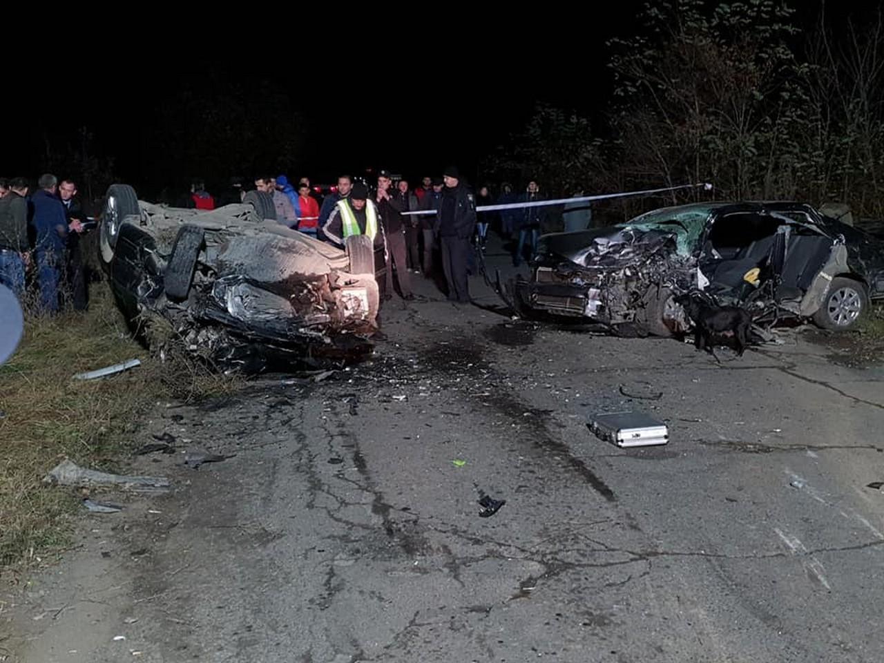 Поліція Хустщини розслідує ДТП з двома загиблими жителями села Золотарево