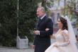 Весілля доньки Віктора Балоги: з'явились фото з церемонії вінчання подружжя