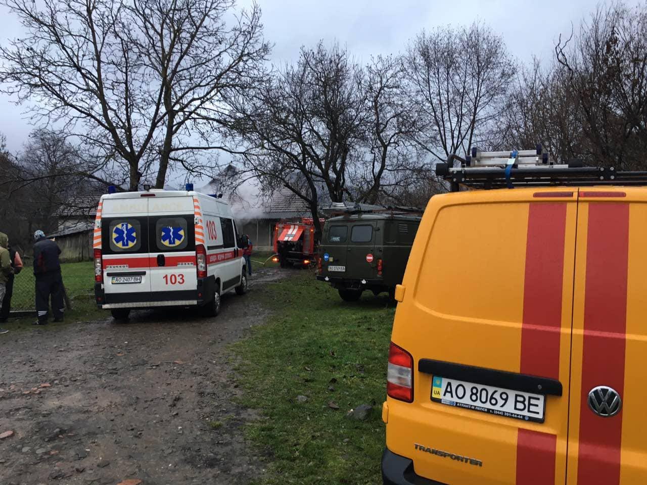 У селі Пасіка, що на Свалявщині, вранці трагічно загинули чоловік та жінка