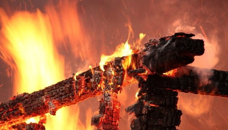 28 листопада у селі Великі Лучки на Мукачівщині загорілась надвірна споруда
