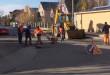 На Ужгородщині посеред вулиці утворилося провалля