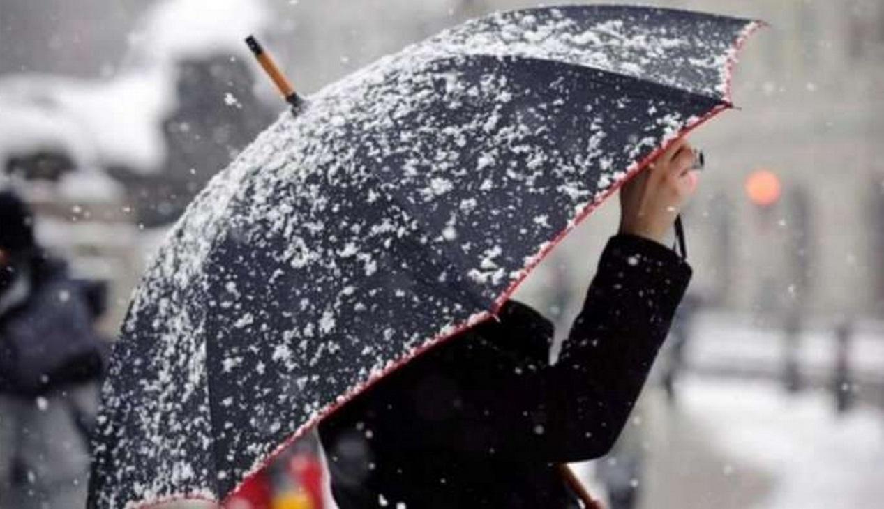 3 грудня на Закарпаття прийшло потепління з дощами і мокрим снігом