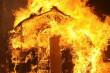 Вогонь знищив дерев'яний будинок на Мукачівщині