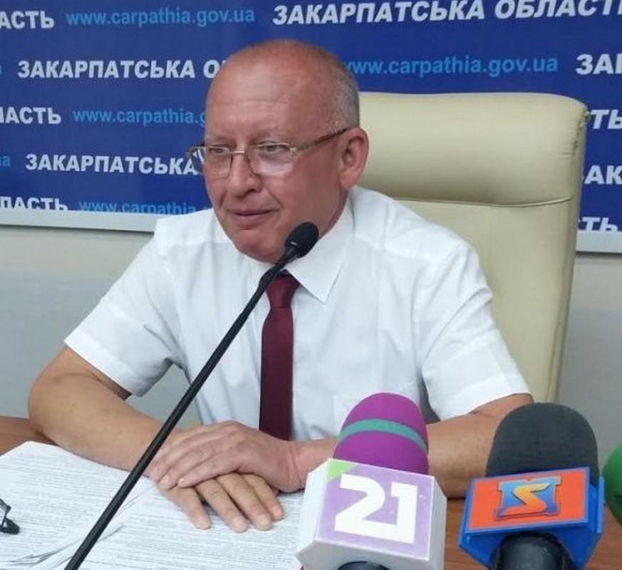 Чиновник Юрій Лесьо розповів, як скоїв аварію в Ужгороді