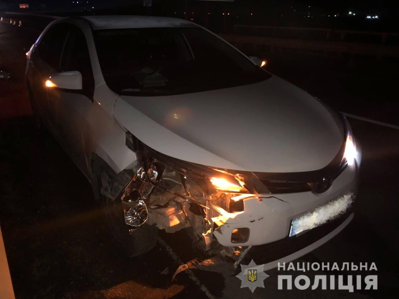 Опубліковано фото з місця смертельної ДТП на об'їзній дорозі Ужгорода, що поблизу українсько-словацького кордону