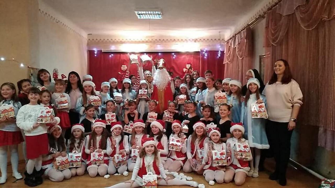 До центру культури і відпочинку Паланок, що в Мукачеві, завітав Миколай