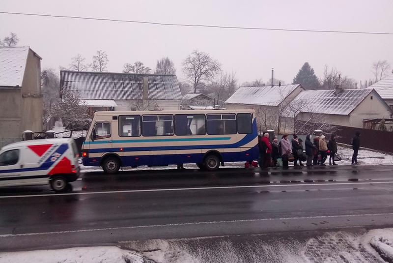 """Автобус """"Ужгород-Ясіня"""" зламався у Ракошині"""
