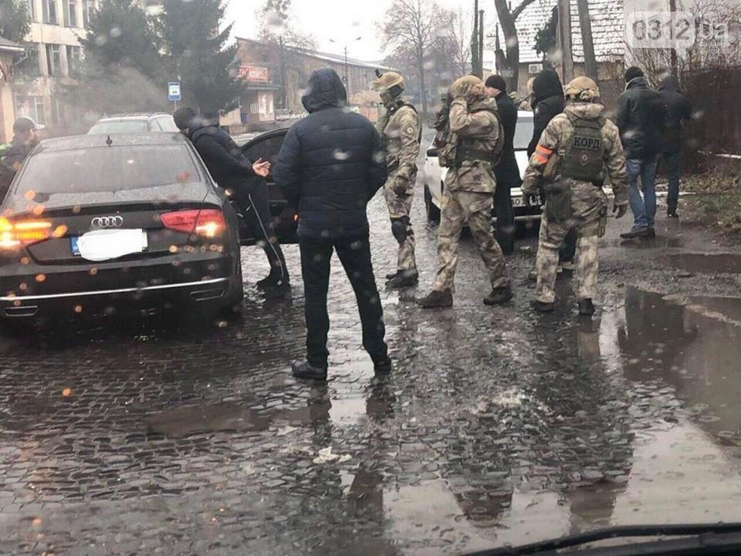 Сайт міста Ужгорода 0312 повідомляє, що в Мукачеві провели спецоперацію