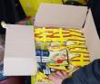 Чоловік сховав контрабандні цигарки у коробку з