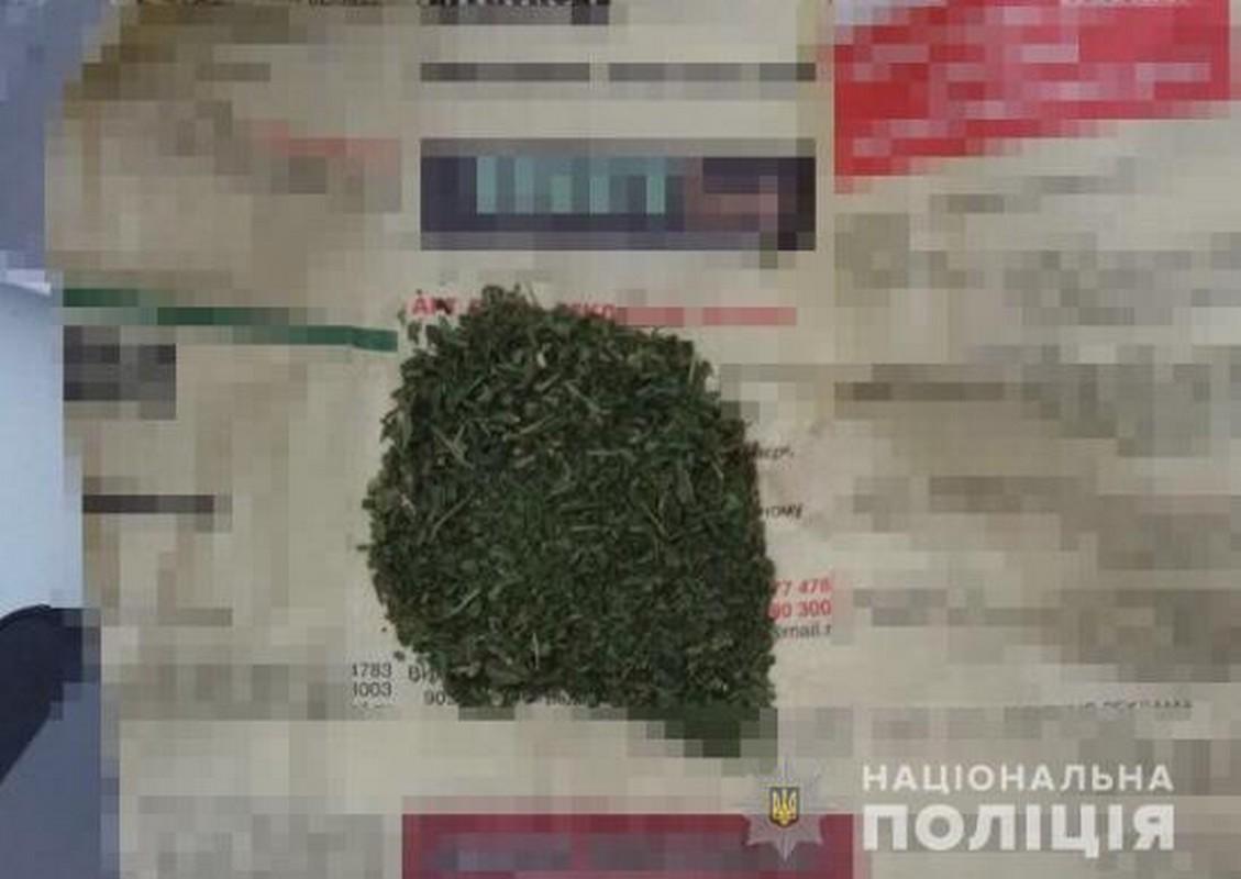 У селі Бобовище, що на Мукачівщині, у чоловіка знайшли марихуану