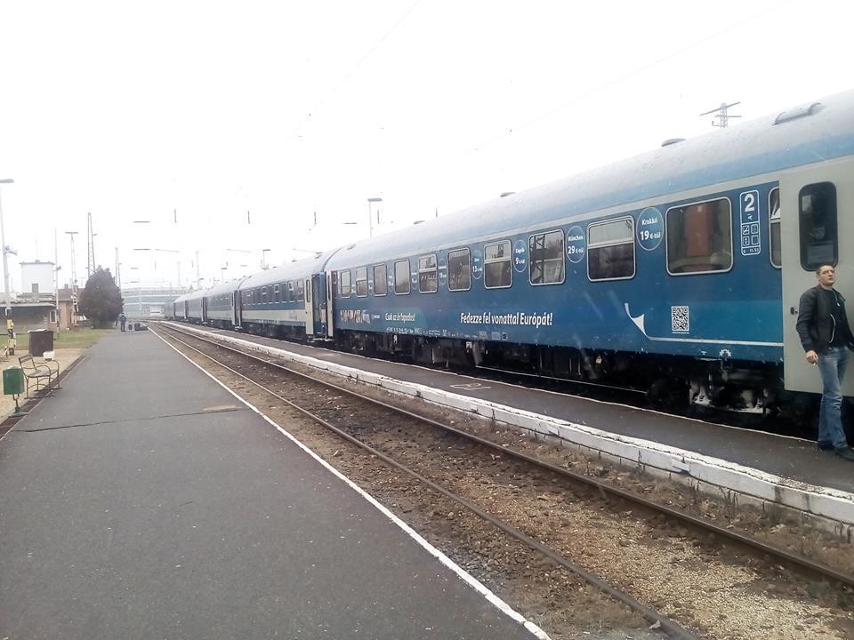 """Закарпатець розповів про свої враження від потягу """"Будапешт-Мукачево"""""""