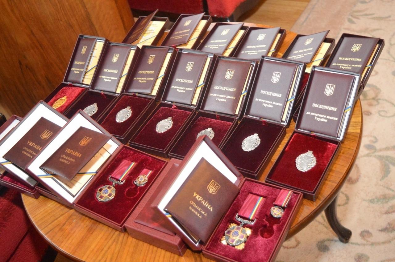 19 грудня майже 30 закарпатців відзначили державними та обласними нагородами