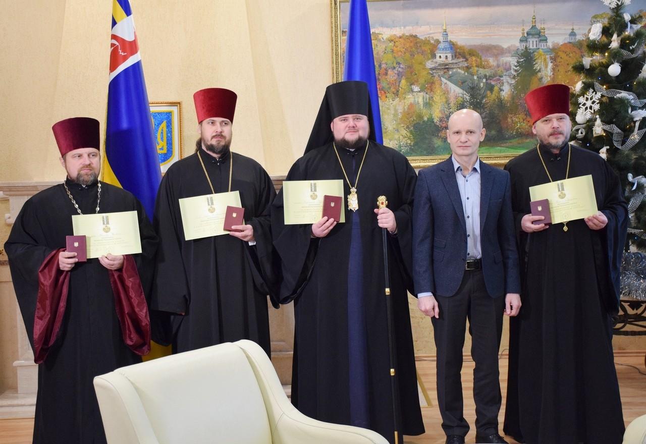 4 закарпатських капеланів 21 грудня нагородили відзнаками Президента України