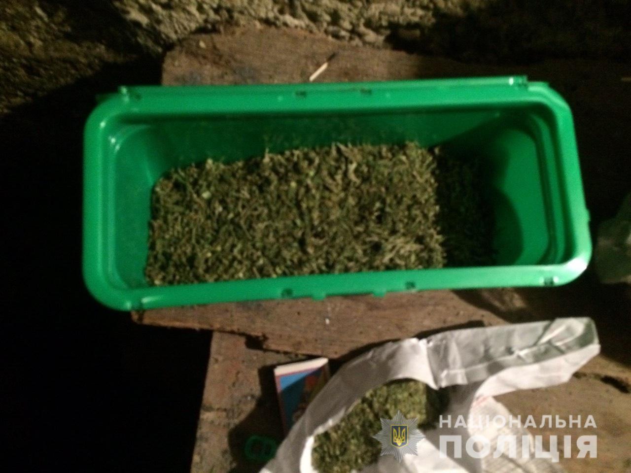 У двох жителів селища Буштино, що на Тячівщині, знайшли марихуану