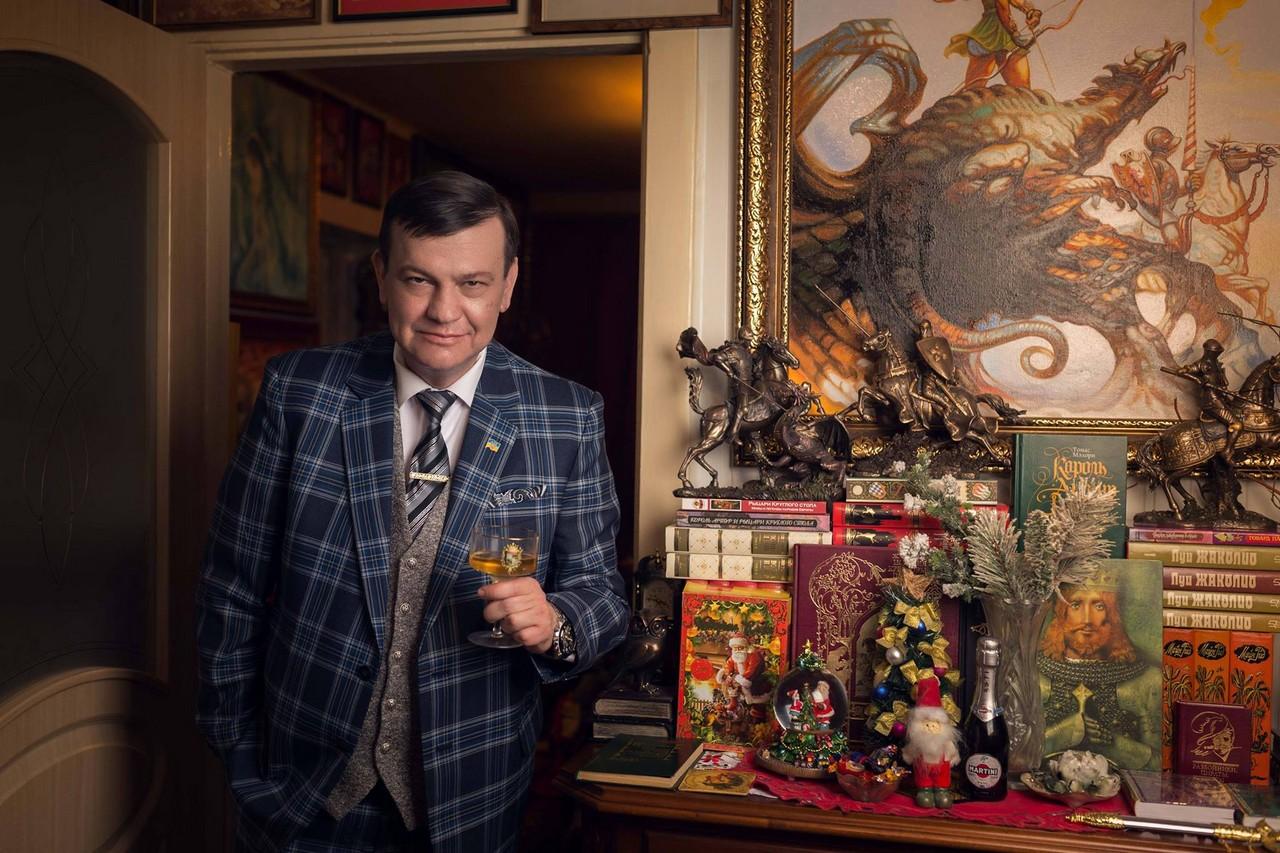 Голова Ради адвокатів Закарпаття Олексій Фазекош привітав краян із новорічно-різдвяними святами