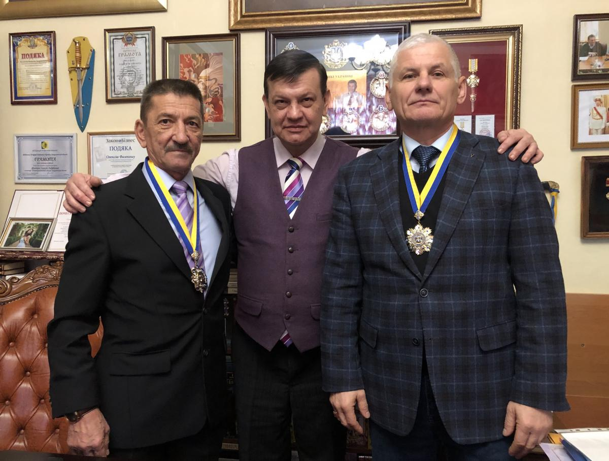 Двом найкращим адвокатам Закарпаття вручили ордени