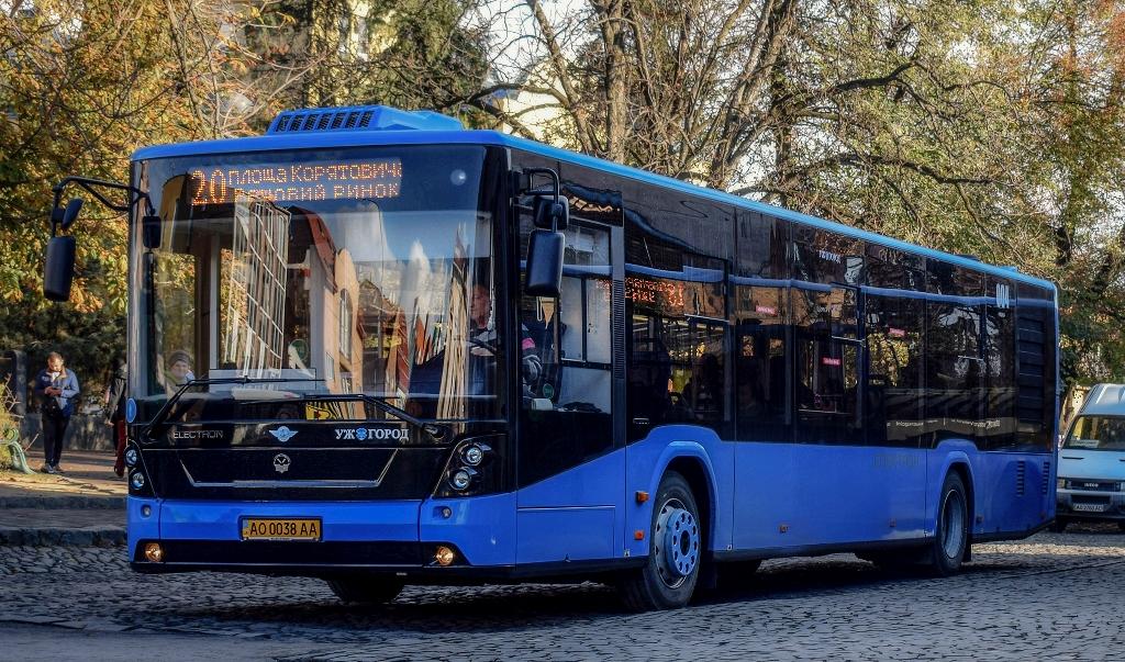 Інформація про роботу автобусів Ужгорода у святкові дні