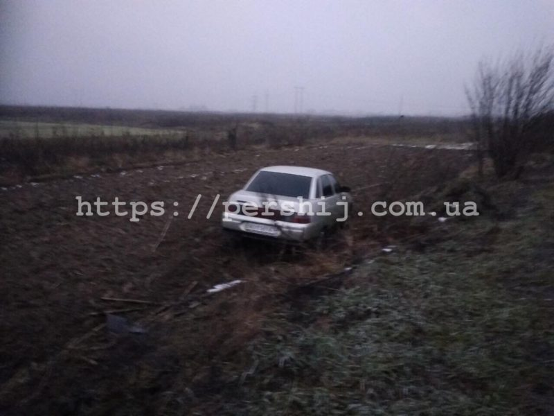 Неподалік села Нове Давидково, що на Мукачівщині, сталася ДТП