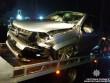 У Мукачеві жінка-водій скоїла аварію