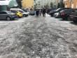Вулиці Мукачева перетворилися на ковзанку