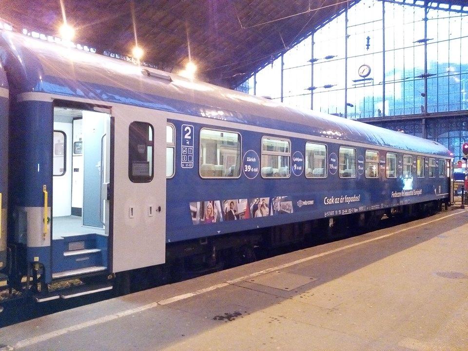 """Перші підсумки: понад 1600 пасажирів скористались потягом """"Мукачево-Будапешт"""" за неповний місяць"""