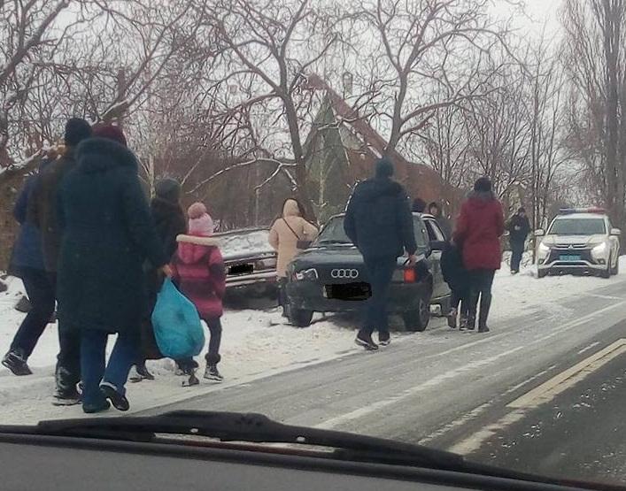 У Виноградові сьогодні зіткнулися дві машини