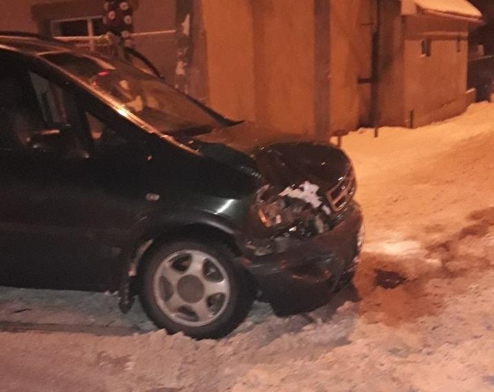 Вчора ввечері у Виноградові сталася незначна ДТП