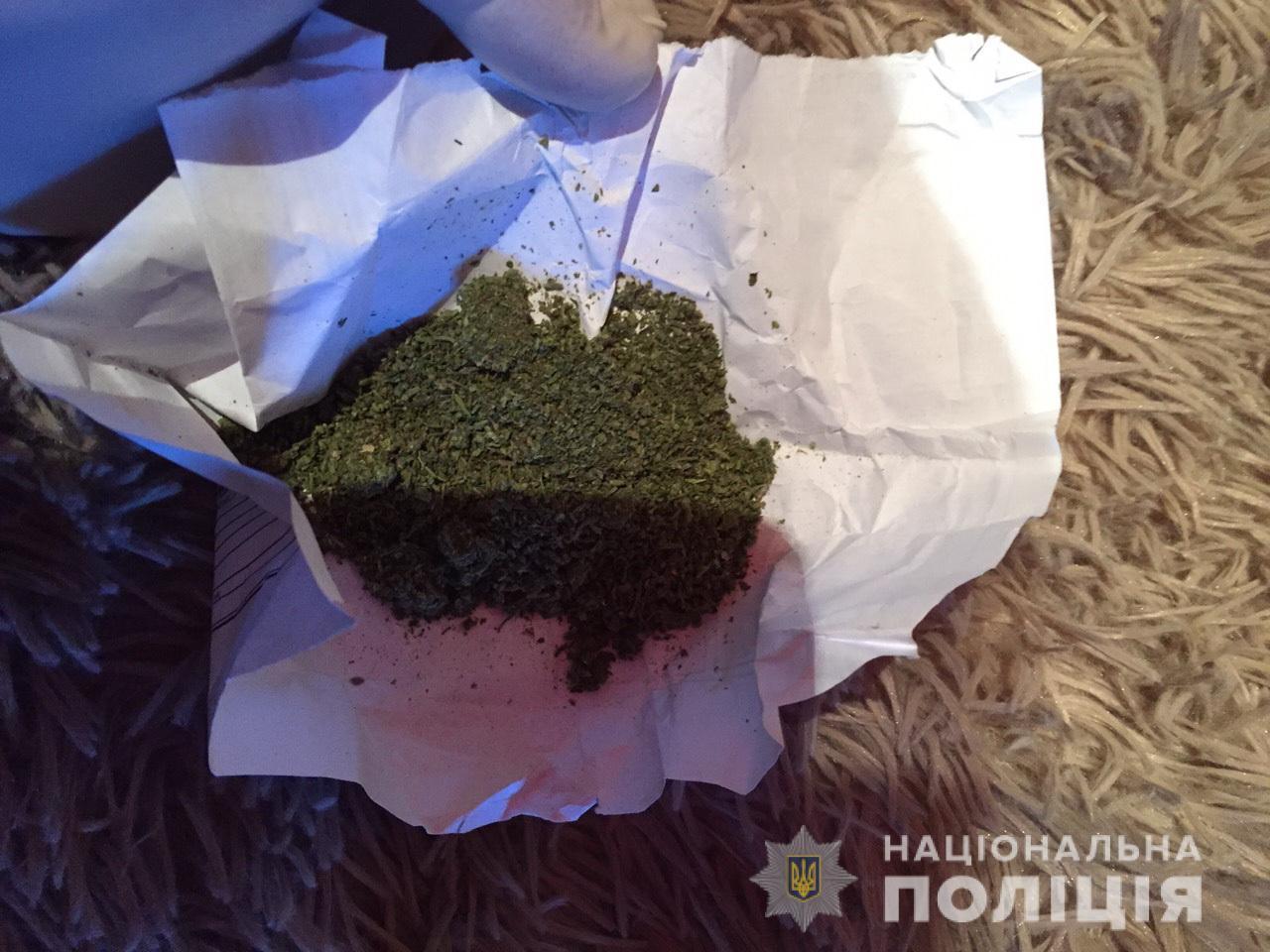 У 56-річного чоловіка із Великих Берегів знайшли марихуану