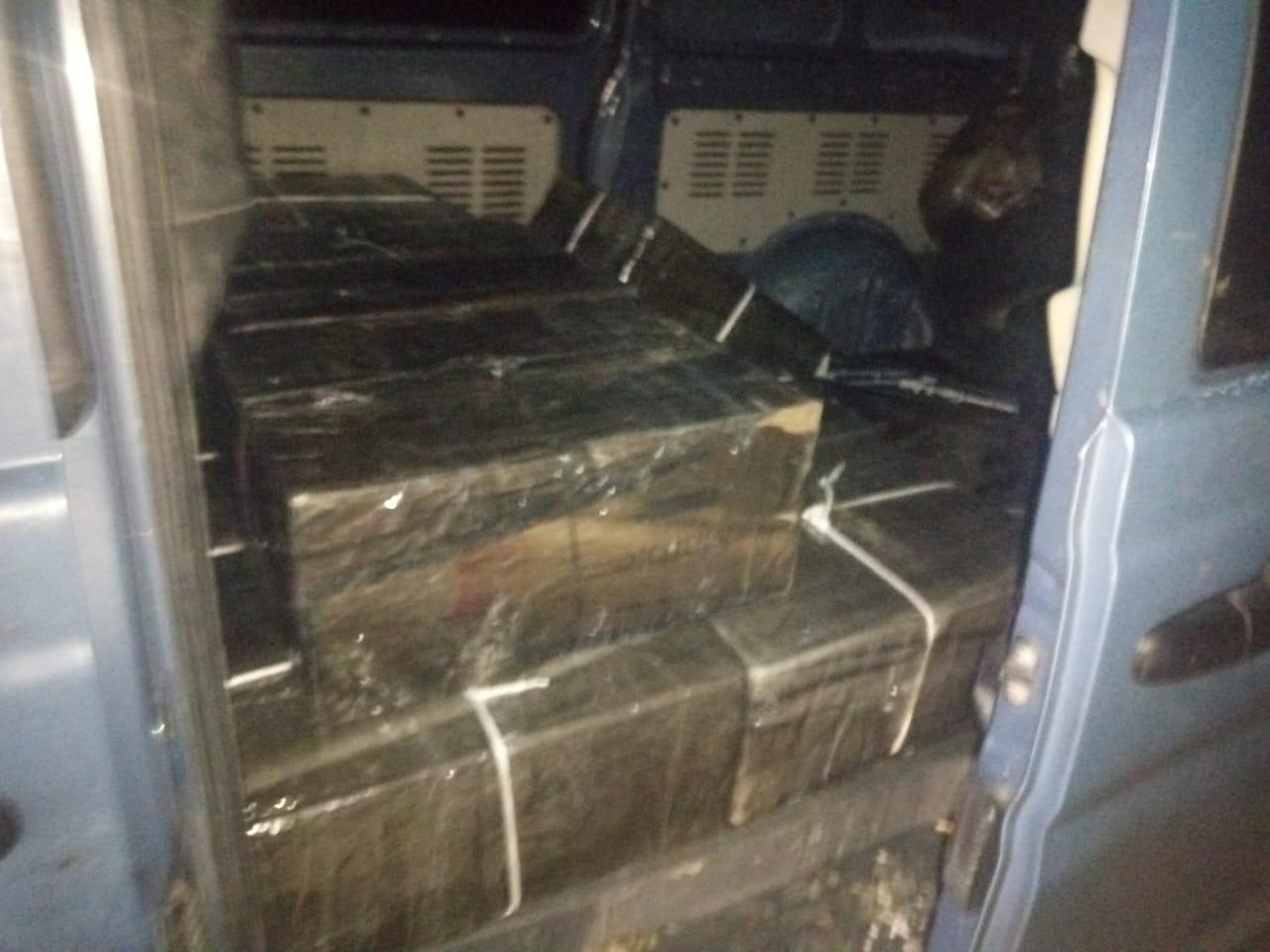 На Закарпатті прикордонники Мукачівського загону зупинили великий контрабандний вантаж