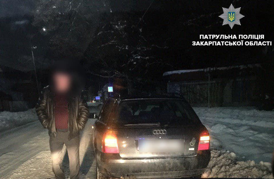 Поліція виявила шістьох водіїв напідпитку