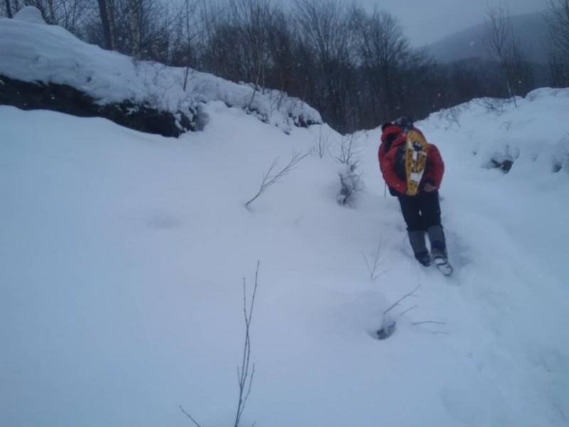 В районі гори Драгобрат, що на Закарпатті, заблукав лижник із Одеси