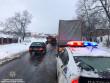 На Мукачівщині утворився чималий затор із вантажівок