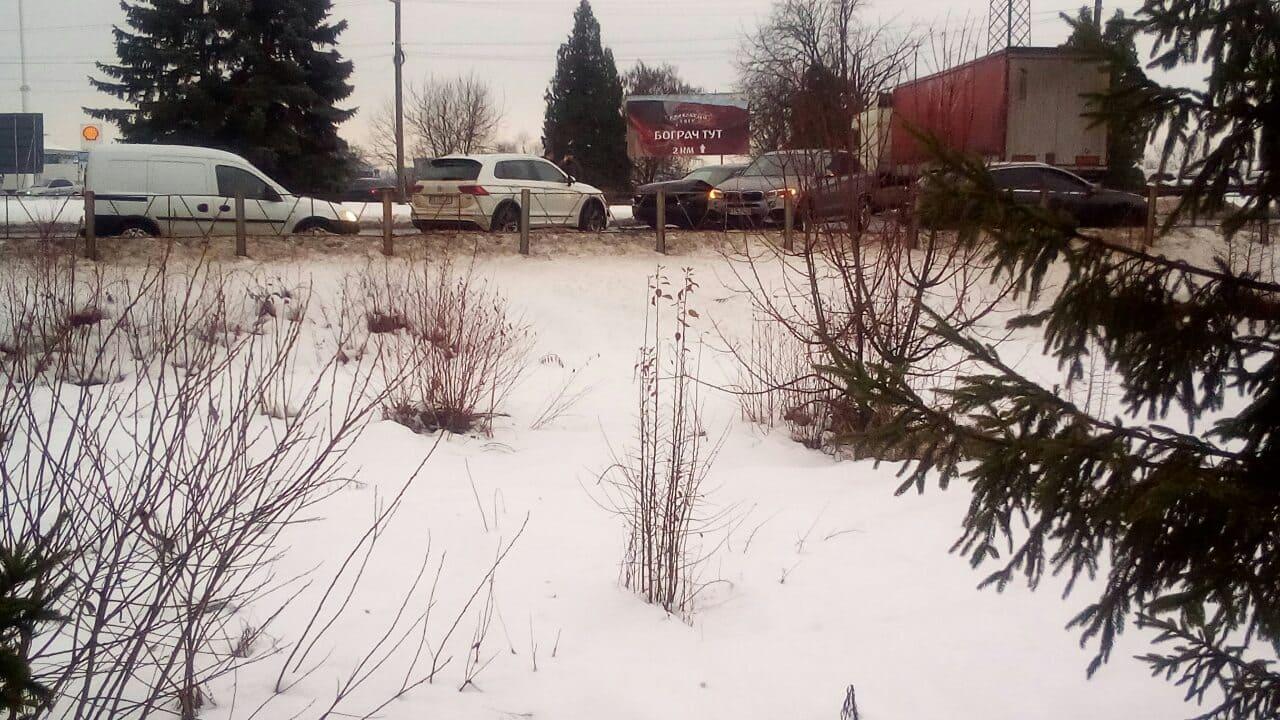 На в'їзді у Мукачево сьогодні вранці сталася аварія
