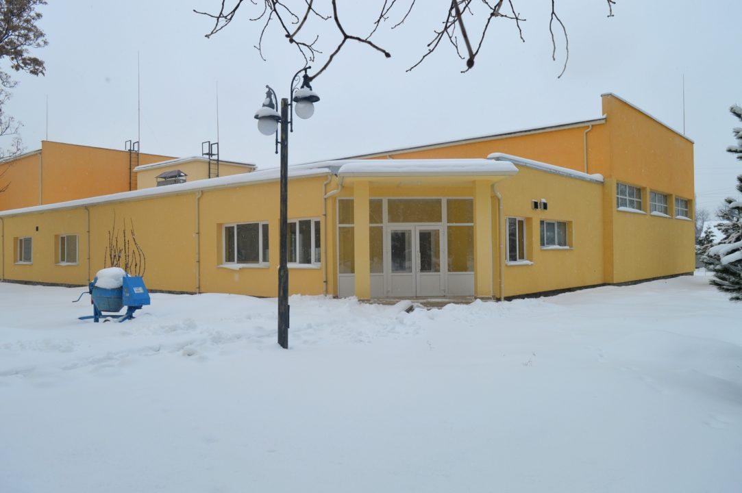 В Ужгородській школі-інтернаті добудовують сучасний спорткомплекс