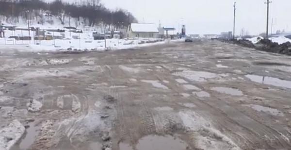 Через розбиті об'їзні Мукачева оштрафували Закарпатський облавтодор