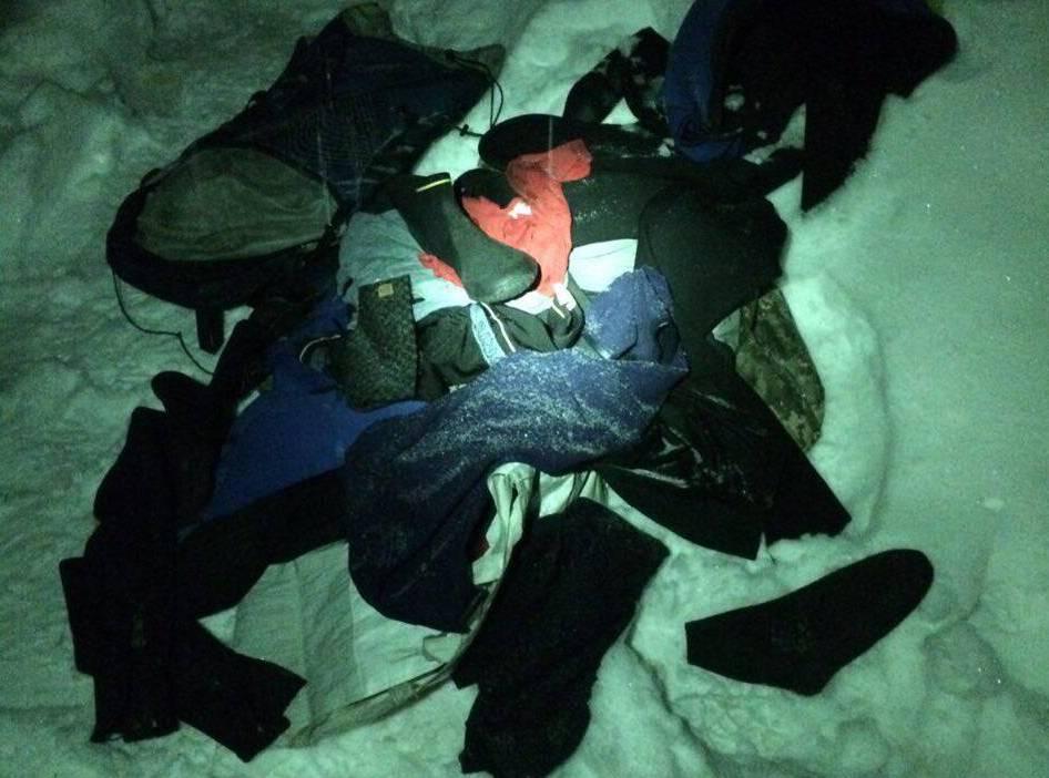 На Закарпатті біля кордону затримали двох осіб з гідрокостюмами