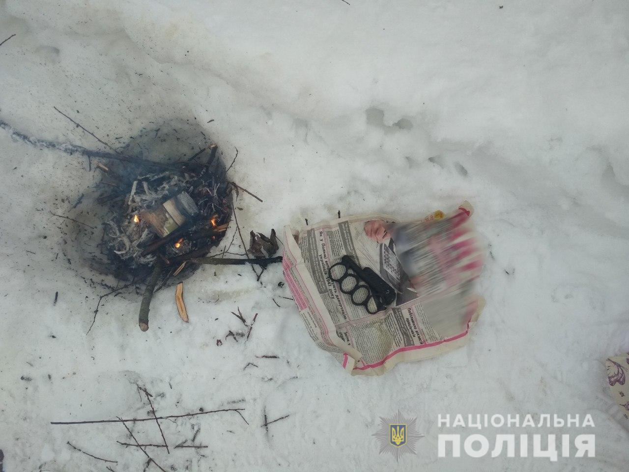 Поліція Іршавщини вилучила набої та саморобний кастет