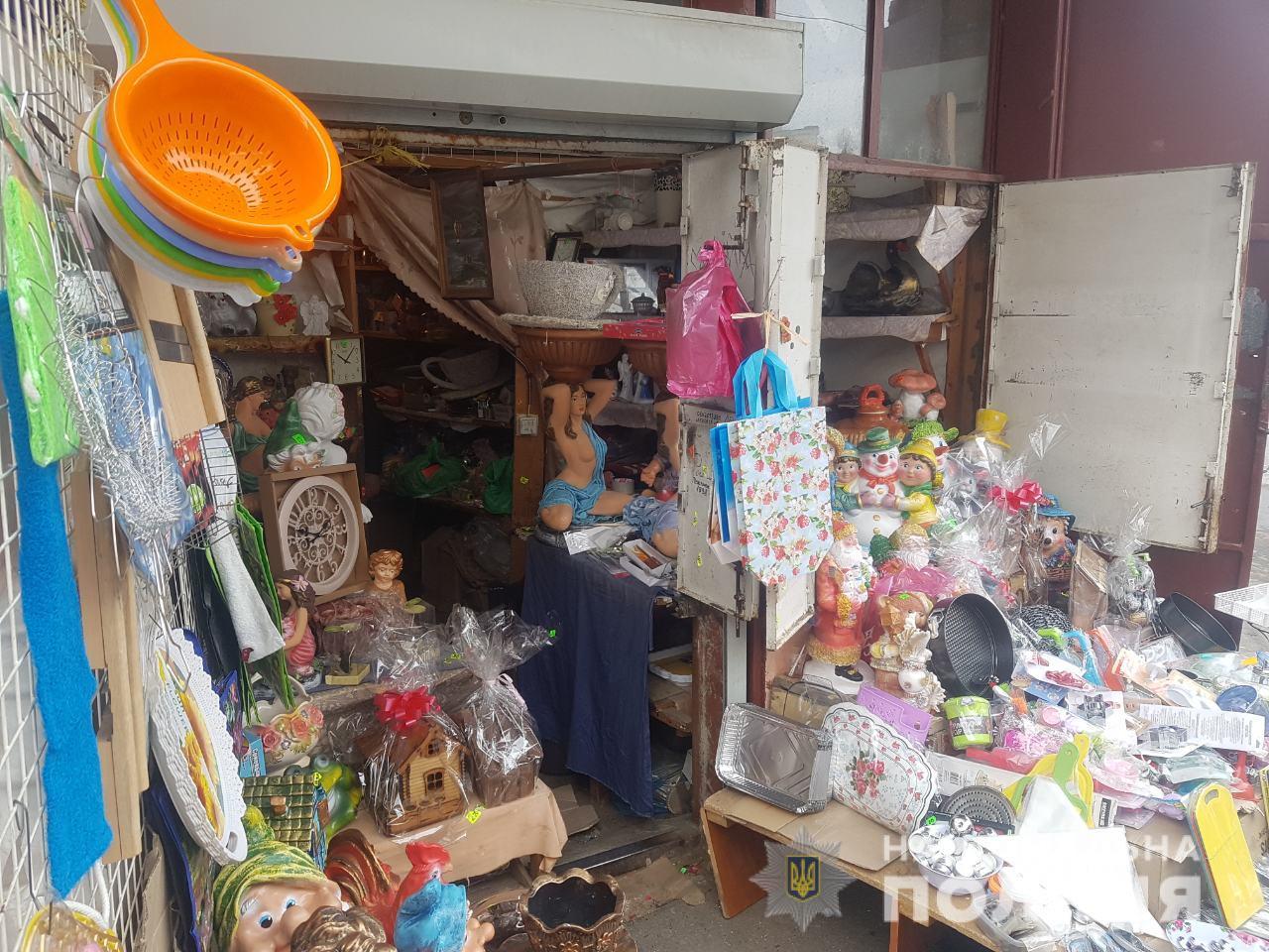 У Берегові на центральному ринку скоїли злочин
