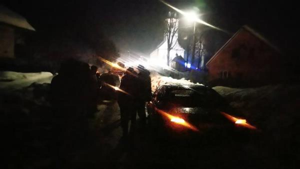 У селі Бронька на Іршавщині через жахливий стан дороги автобус знесло на легковик