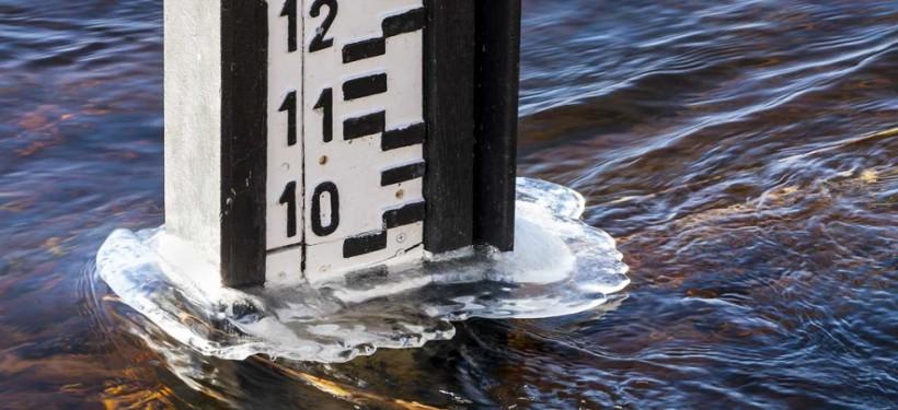 Через потепління 1 лютого вода в річках Закарпаття піднялася на 0,5-1,5 метрів