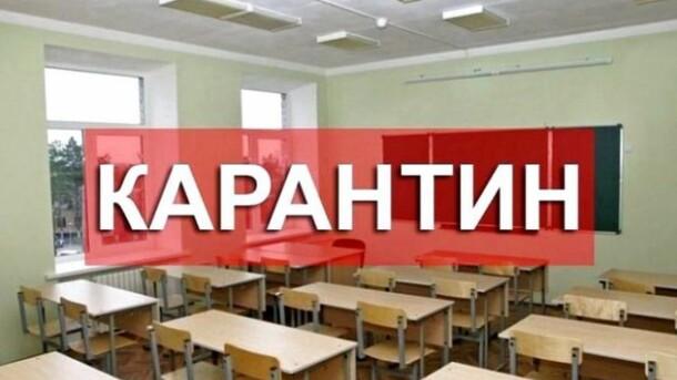 В Іршавському районі з 4 лютого школи та дитсадки закривають на карантин