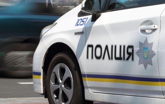 В Ужгороді на проспекті Свободи поліцейське авто врізалося в мікроавтобус
