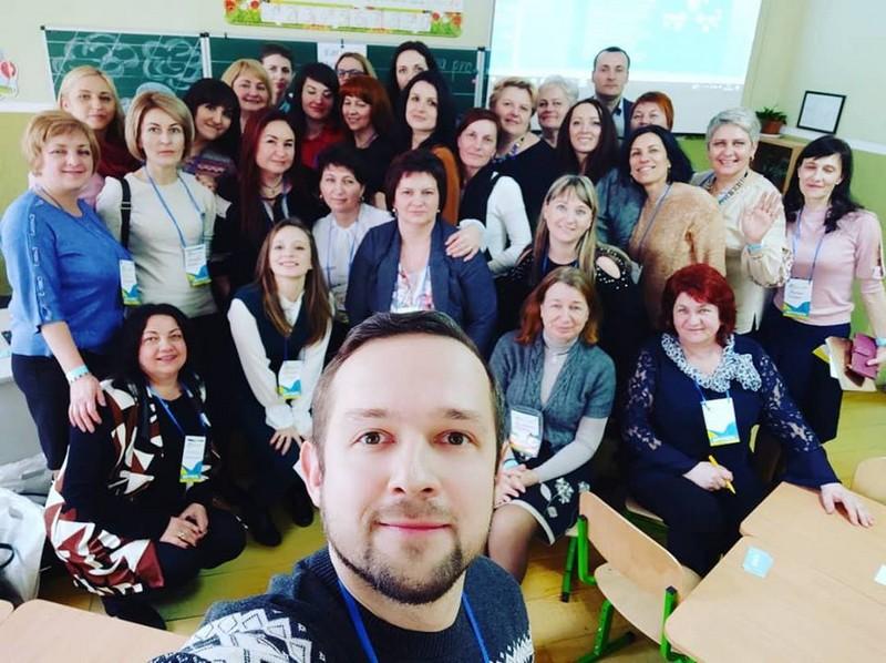 У Мукачево в ЗОШ №7 приїхала понад сотня вчителів зі всієї України