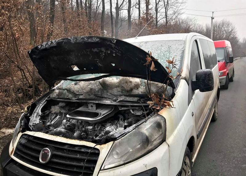 У Закарпатській області впродовж доби горіли дві іномарки – Fiat Scudo та Volkswagen Golf