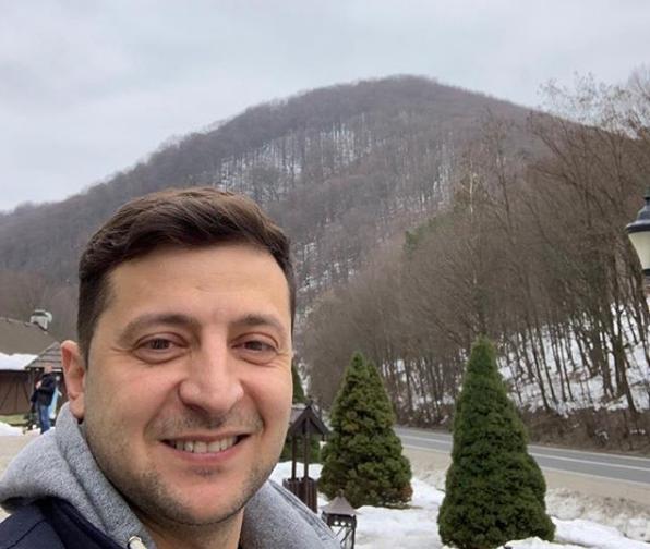 Український гуморист Володимир Зеленський приїхав на Закарпаття