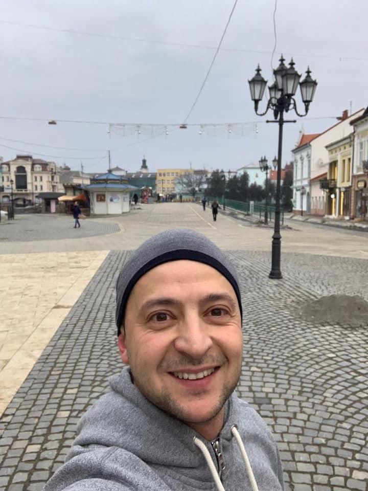 Володимир Зеленський подякував ужгородцям за гостинний прийом