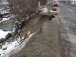 У Перечинському районі обвалилася частина дороги