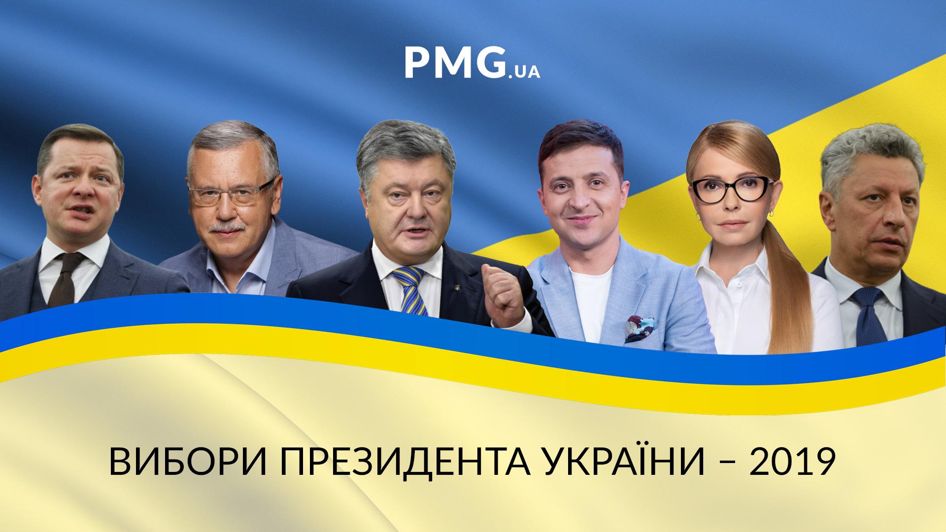 31 березня 2019 року в Україні відбудуться вибори президента: в кого найбільші шанси на перемогу