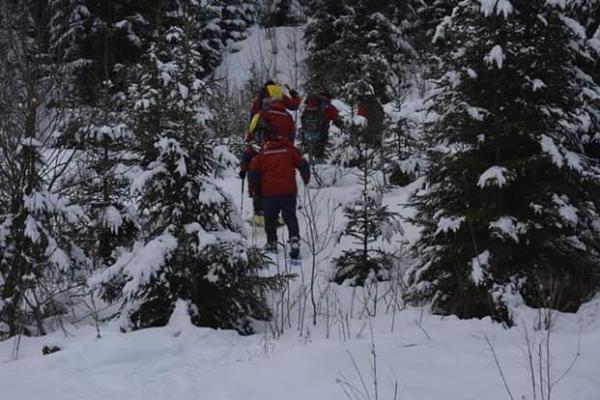 Рятувальники знайшли туристку з Дніпра, яка заблукала у Карпатах